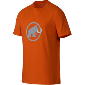 Mammut Logo Shortsleeve Shirt Men orange